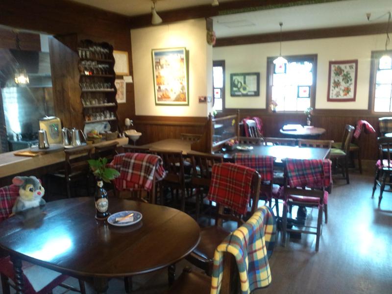吉備中央町ケンジャミン・フランクリンのアンティークカフェ「ベルネーゼ」外観7